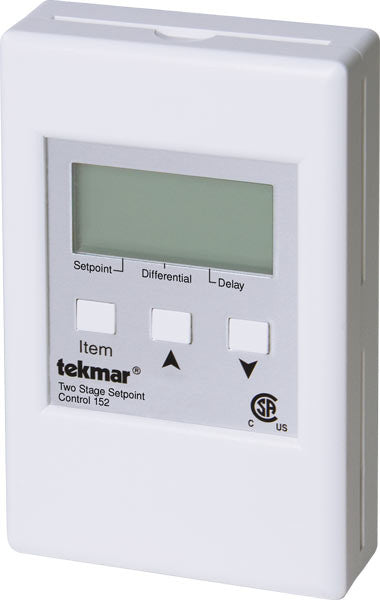 Tekmar 152   Two Stage Setpoint Control