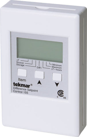 Tekmar 155   Difference Setpoint Control