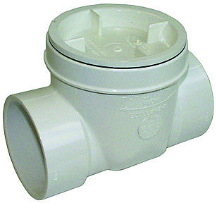 "Legend 202-253   3"" Solvent S-640 Pvc Backwater Valve"