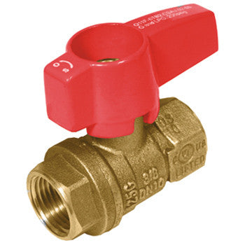 "Webstone 22563   3/4"" IPS GAS BALL VALVE"