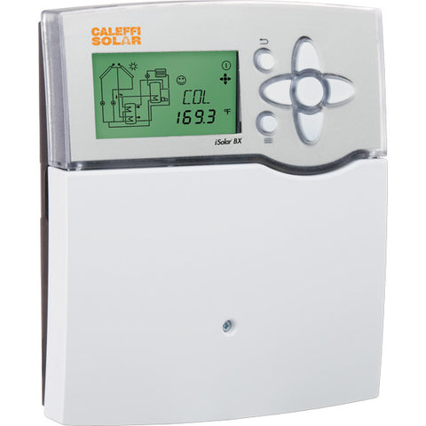 Caleffi 257270A Model 257 iSolar BX Differential Temperature Controller With 4 Output Relays