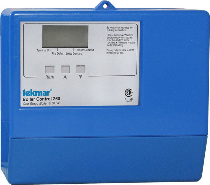 Tekmar 260   Boiler Control - One stage boiler & DHW