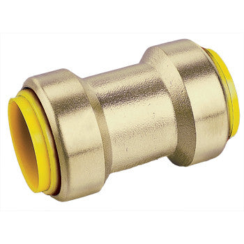 "Webstone 26144W   1"" PRO-PUSH SLIP COUPLING-LEAD FREE  DZR BRASS"