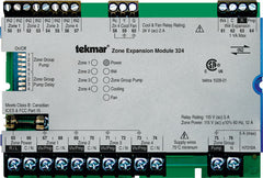 Tekmar 324   tN2 Zone Expansion Module – Four zones, Cooling & Fan