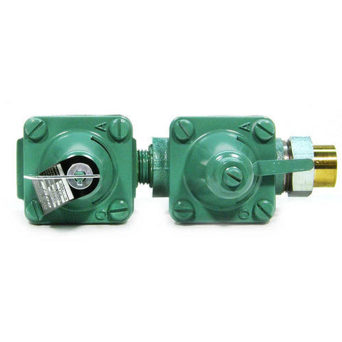 "Taco 334-3   1/2"" Sweat Union Inlet, 1/2""? NPT Outlet Dual Control Boiler Feed Pressure Reducing Valve"