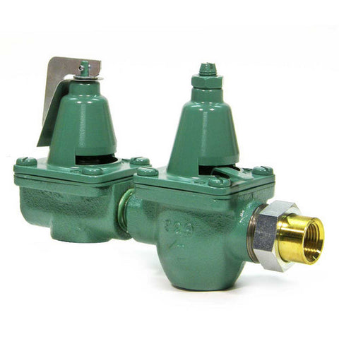 "Taco 334-T3   1/2"" NPT Union Inlet, 1/2""? NPT Outlet Dual Control Boiler Feed Pressure Reducing Valve"