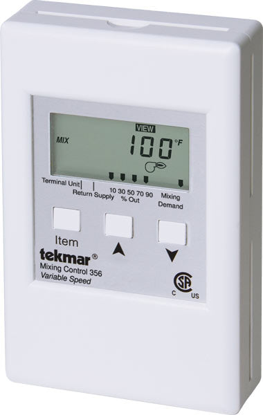 Tekmar 356 Mixing Control Variable Speed Ambient
