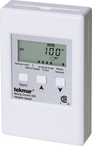 Tekmar 356 - Mixing Control - Variable speed