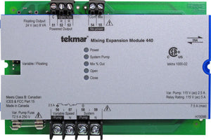Tekmar 440   Mixing Expansion Module - Variable speed / Floating action