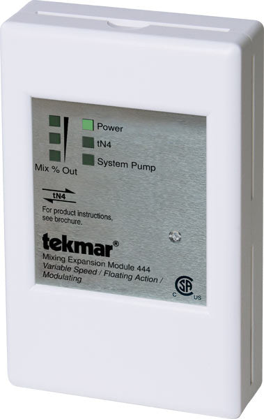 Tekmar 444   Mixing Expansion Module - Variable speed / Floating action / Modulating)