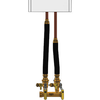 "Webstone 4FK3-WIS-18  HYDRO-CORE 1-1/4"" FIP COMPLETE NEAR BOILER PIPING KIT - WALL HUNG - INTERNAL CIRCULATOR PUMP"