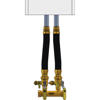 "Webstone 4FK4-WIF  HYDRO-CORE 1-1/4"" FIP COMPLETE NEAR BOILER PIPING KIT - WALL HUNG - INTERNAL CIRCULATOR PUMP"