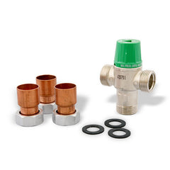 "Taco 5004-C3   1"" Sweat 5004 Low Lead Thermostatic Mixing Valve"