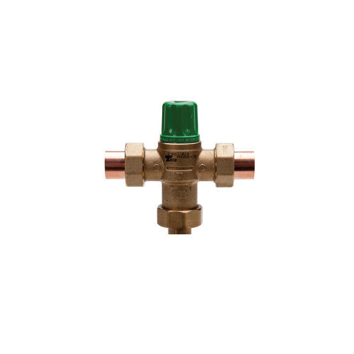 "Taco 5004-HX-C3   1"" Sweat Union 5004 Heating Only Thermostatic Mixing Valve"
