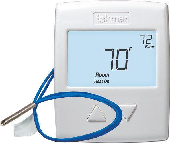 Tekmar 519 Radiant Thermostat 1 Stage Heat Ambient
