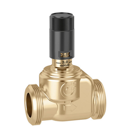 Caleffi 519006 Brass Model 519 Differential Pressure By-pass Valve (for HydroMixer™ Series)