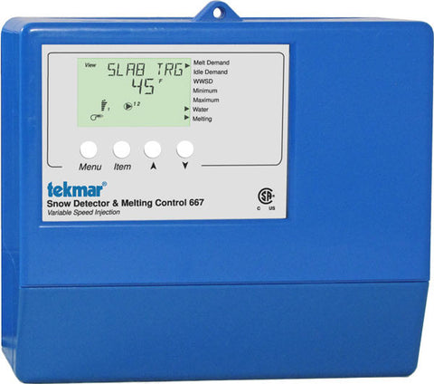 Tekmar 667 - Snow Detector & Melting Control - Variable Speed