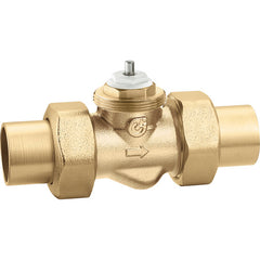 "Caleffi 676059A Brass Model 6760 2-way Zone Valve 3/4"" SWT No Actuator"