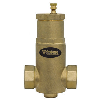 "Webstone 74006   1-1/2"" IPS AIR SEPARATOR w/ REMOVABLE VENT HEAD"