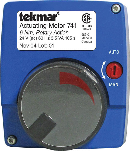 Tekmar 741   Actuating Motor -Floating action