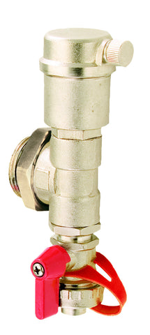 LEGEND HYDRONICS 830-805   M-8300 STAINLESS AIR & WATER PURGE ADAPTER