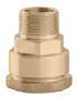"Caleffi 861527A CST Model 861 GeoGrip 3/4"" x 3/4"" Male NPT Pipe Fitting"