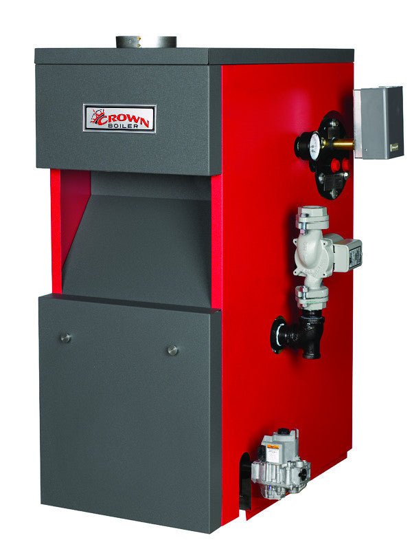 Crown Boiler - CWI Series - Cayman Model CWI138 - 138,000 BTU - Gas ...