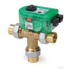 "Taco I100U3R-1   1"" SWT Union, 3 - Way Outdoor Reset I-Series Electronic Mixing Valve w/ Sensor"