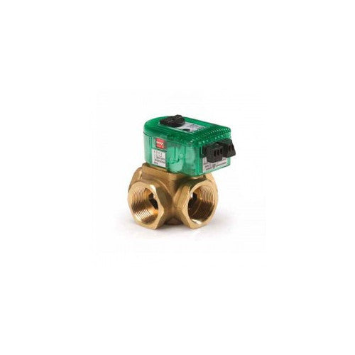 "Taco I125T4R-1   1-1/4"" NPT, 4 - Way Outdoor Reset I-Series Electronic Mixing Valve w/ Sensor"