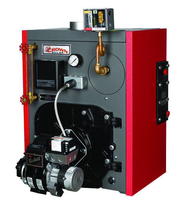 Crown Boiler - KSZ Series - KINGSTON Model KSZ175 - 207,000 BTU ...