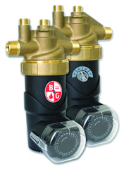 Bell & Gossett LHB08100098 Lead Free Brass e3-4 Potable Hot Water Recirculation, Energy Efficient Multispeed Circulator