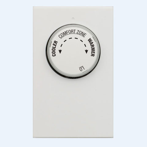 LuxPro LV11-005 MECHANICAL LINE VOLTAGE SINGLE POLE HEAT THERMOSTAT