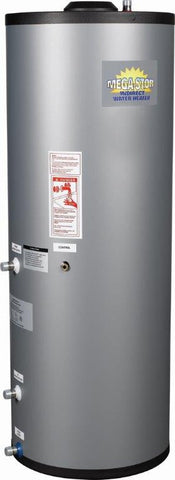 Crown Boiler - MS Series - MEGA-STOR Model MS-40   39 Gallon Stainless Steel Indirect Water Heater - * This Tank Has Been Replaced By MS2-040 MEGA-STOR 2