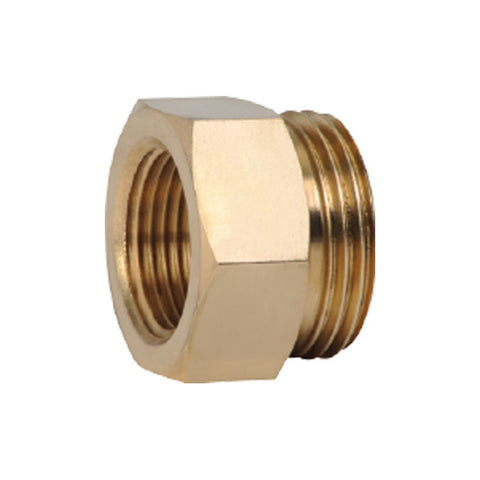 "Caleffi NA10060 3/4"" NPT Female x 1"" Male Thread"