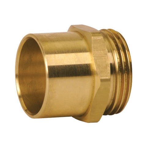 "Caleffi NA10062 1"" Sweat Adaptor w/ 1"" Male Thread"