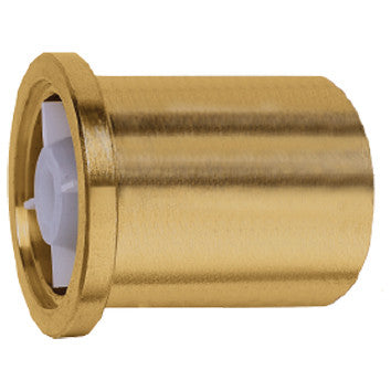 "Caleffi NA10164 Low Lead Brass 1/2"" Sweat Tail Piece With High Temperature Check Valve"