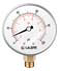 "Caleffi NA10363  Pressure Gauge 0-60 psi/0-4 bar, 1/4""NPT Thread"