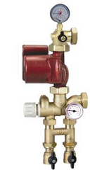 Caleffi NA17256  Thermostatic Mixing Station, Alpha 25-55U