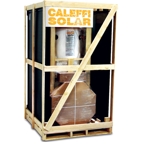 Caleffi NAS300601 120 Gallon Single Coil Tank System SWH with (4) 6.5' Collectors