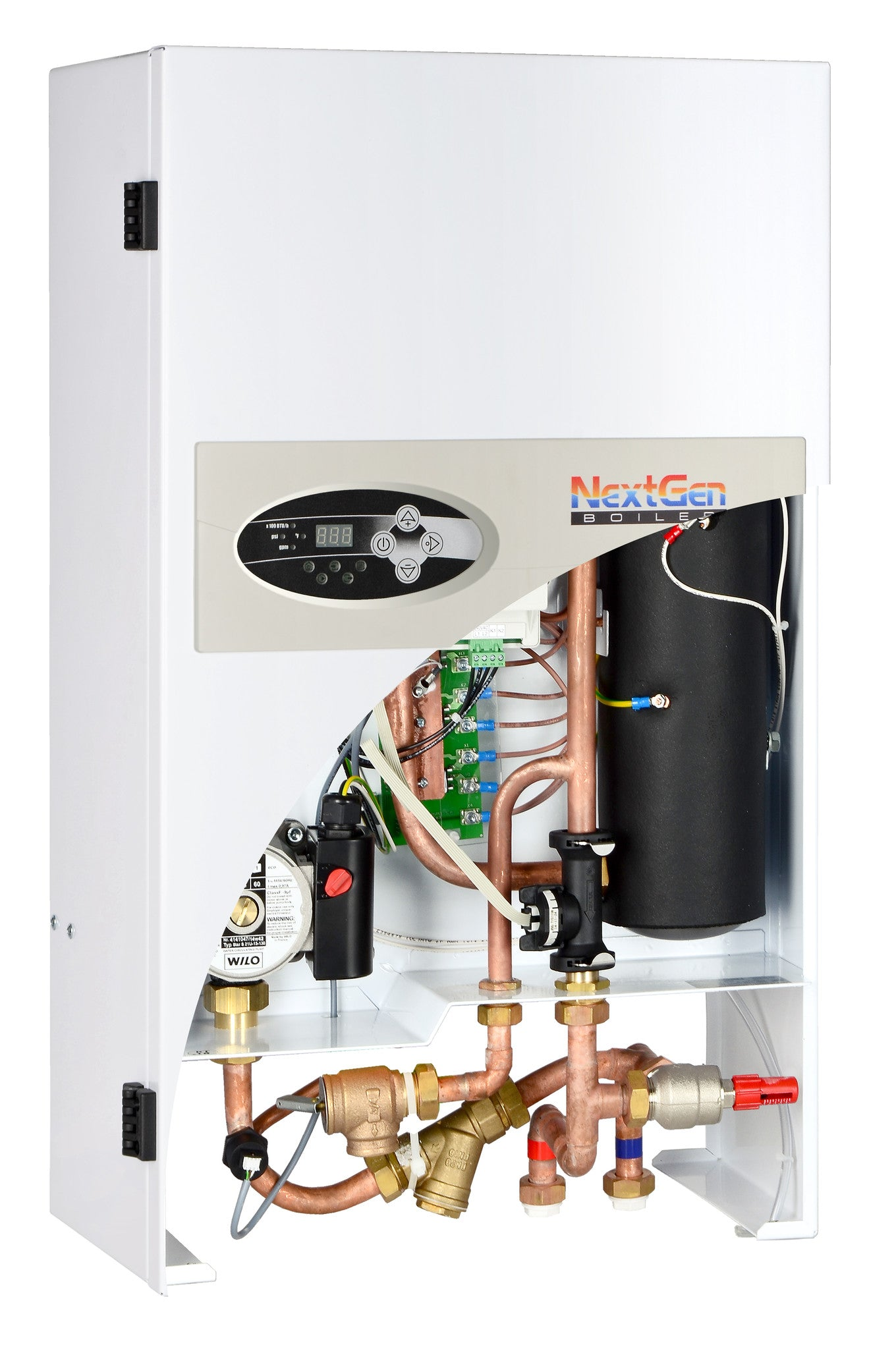 NEXTGEN-14.4 PRE-ASSEMBLED 14.4 kW ELECTRIC, RESIDENTIAL OR COMMERCIAL, MODULATING BOILER