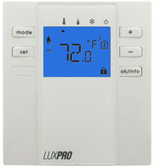 LuxPro P2000F   FLOOR / SLAB THERMOSTAT, NON-PROGRAMMABLE SINGLE STAGE HEAT ONLY WITH SENSOR