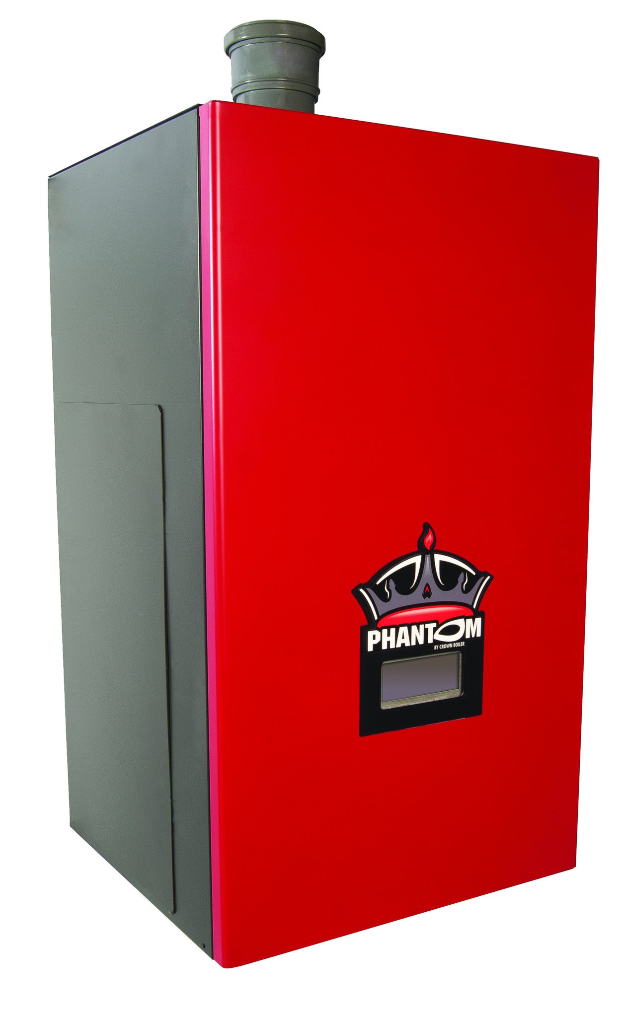 Crown Boiler - PHNTM Series - PHANTOM Model PHNTM120   120,000 BTU Condensing Stainless Steel Gas Fired Hot Water 93% AFUE High Efficiency Natural & LP Gas Boiler