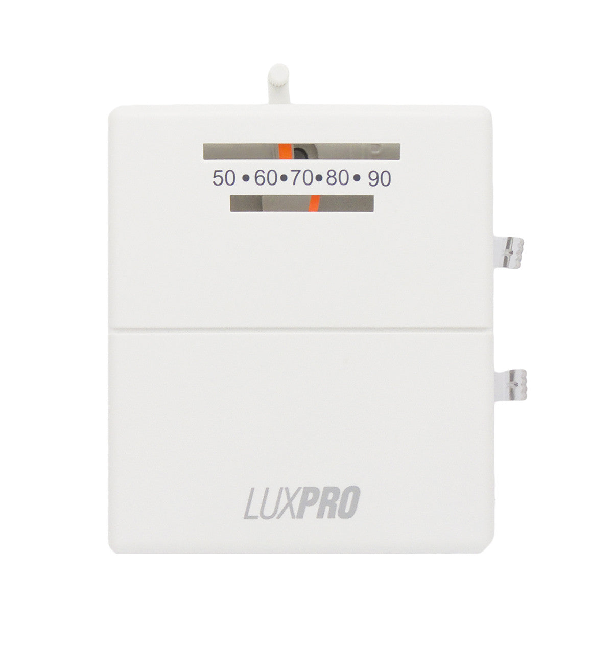 luxpro psm40sa mechanical snap action 2 wire heat only thermostat rh ambientfloorheat com LuxPro PSD111 Problem LuxPro Thermostat Troubleshooting