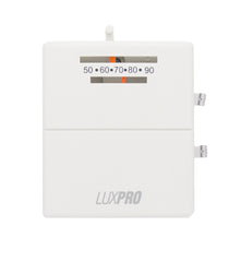 LuxPro PSM40SA   MECHANICAL SNAP-ACTION 2 WIRE HEAT ONLY THERMOSTAT