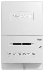 Honeywell T822K1042  Econostat - Vertical Model Mercury Free Heat Only Thermostat w/ Low Temperature Scale