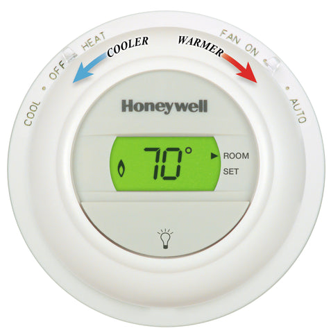 Honeywell T8775A1009  The Round Non-Programmable, Heat Only, Digital  Thermostat