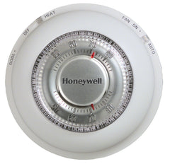 Honeywell T87N1000  The Round Non-Programmable, 1H/1C, Mechanical  Thermostat