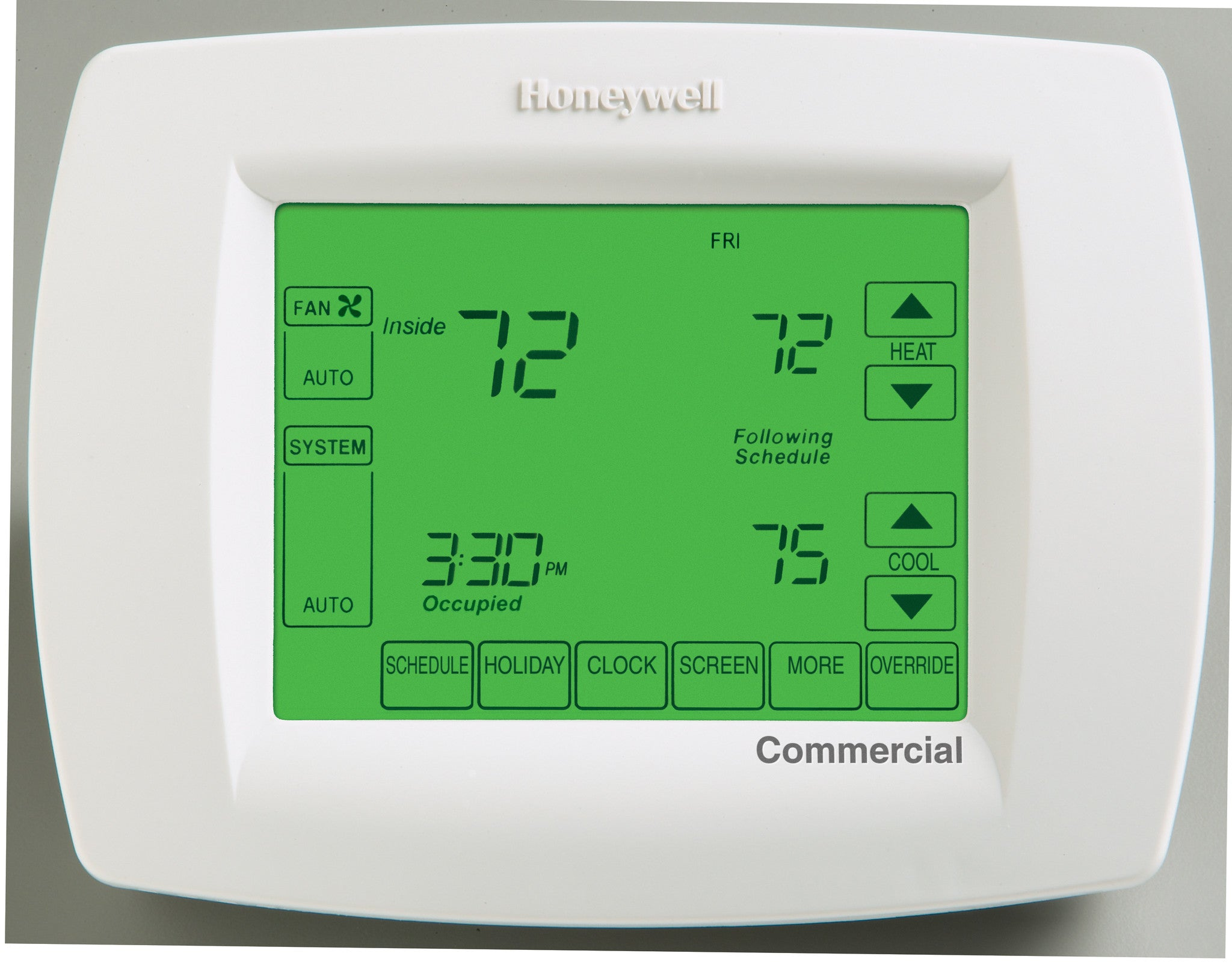 Wiring Diagram For Honeywell Vision Pro 8000 Rite Temp Thermostat 7 Wire Tb8220u1003 Commercial 24 Volt Color Code