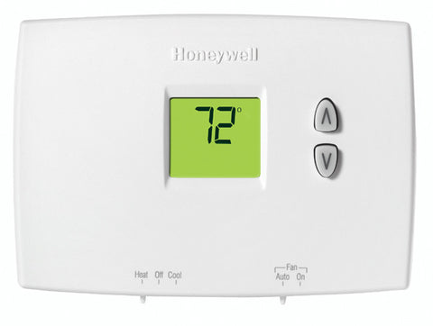 Honeywell TH1110DH1003  PRO 1000 Horizontal Non-Programmable Thermostats (1 Heat/1 Cool)