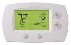 Honeywell TH5220D1029  FocusPro Non-Programmable, 2H/2C, Large Display Thermostat